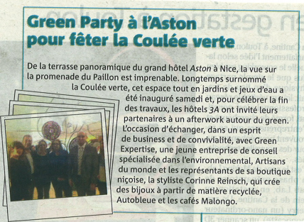 Nice Matin - Soiree Green